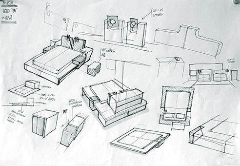 001 | Itaca modular bedroom furniture * Design = OfficineMultiplo