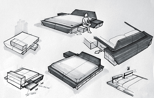 002 | Itaca modular bedroom furniture * Design = OfficineMultiplo