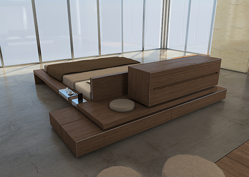 007 | Itaca modular bedroom furniture * Design = OfficineMultiplo