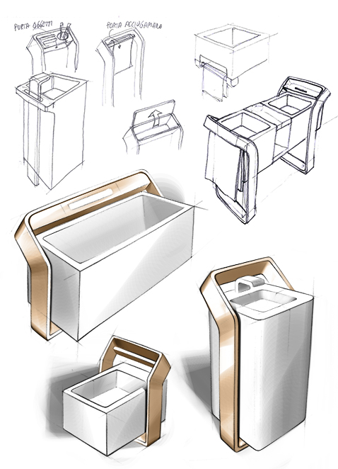 001 | Bagno isola * Design = OfficineMultiplo
