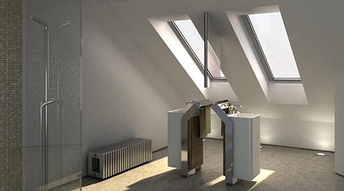 002 | Bagno isola * Design = OfficineMultiplo