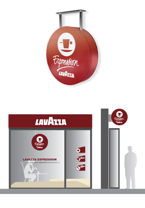 003 | Lavazza Signage * Communication = OfficineMultiplo