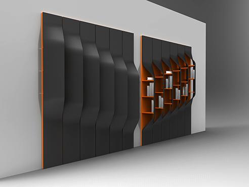 006 | Bookshelf design * Design = OfficineMultiplo