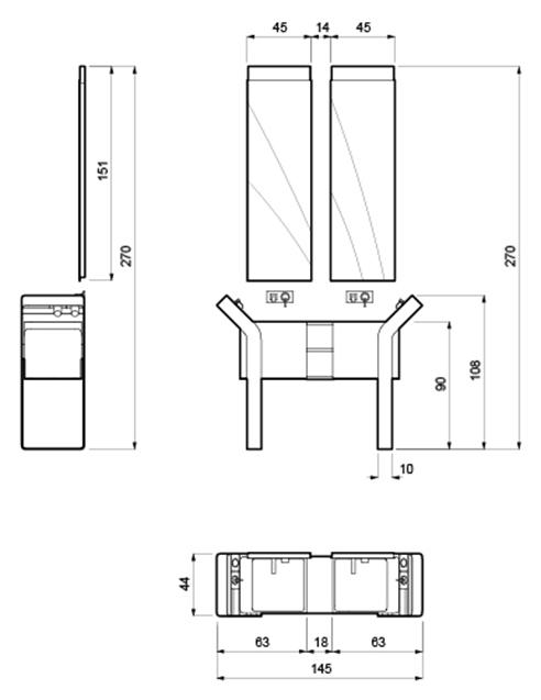 008 | Bagno isola * Design = OfficineMultiplo