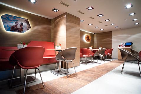 003 | Lavazza Coffè Shop Moscow * Architettura = OfficineMultiplo