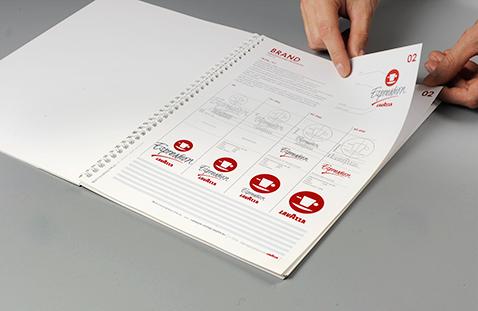 004 | Lavazza Signage Guidelines Book * Comunicazione = OfficineMultiplo