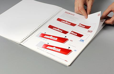 005 | Lavazza Signage Guidelines Book * Comunicazione = OfficineMultiplo