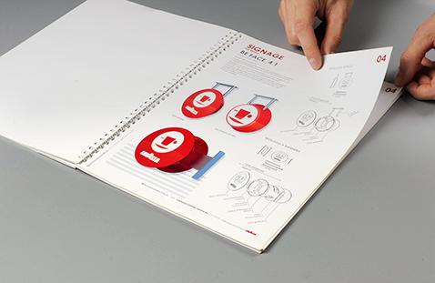 006 | Lavazza Signage Guidelines Book * Comunicazione = OfficineMultiplo