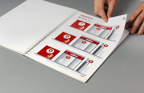 007 | Lavazza Signage Guidelines Book * Comunicazione = OfficineMultiplo