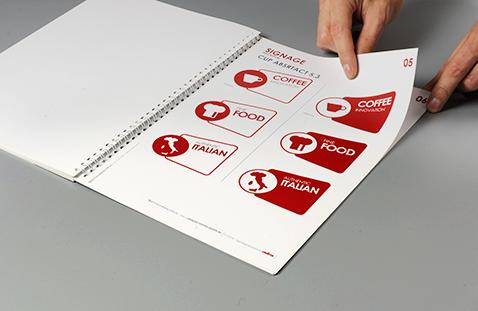008 | Lavazza Signage Guidelines Book * Comunicazione = OfficineMultiplo