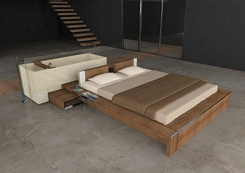 008 | Itaca modular bedroom furniture * Design = OfficineMultiplo