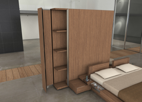 012 | Itaca modular bedroom furniture * Design = OfficineMultiplo