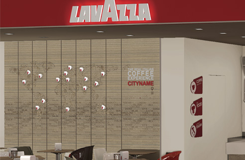 001| Lavazza Cities Wall * Comunicazione = OfficineMultiplo