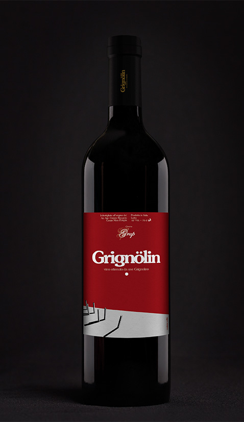 001 | Etichette personalizzate vino Grup * Comunicazione = OfficineMultiplo