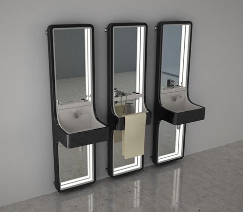 003 | Thermolavabo 01 bathroom furniture  * Design = OfficineMultiplo