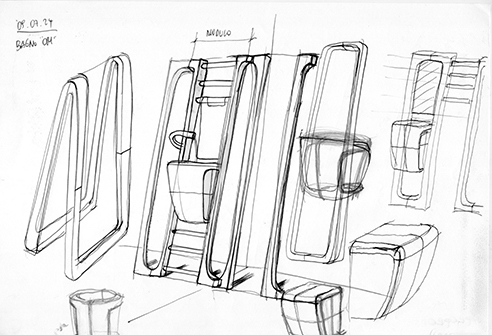 002 | Thermolavabo 02 bathroom furniture * Design = OfficineMultiplo