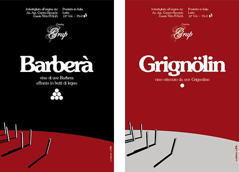 003 | Etichette personalizzate vino Grup * Comunicazione = OfficineMultiplo