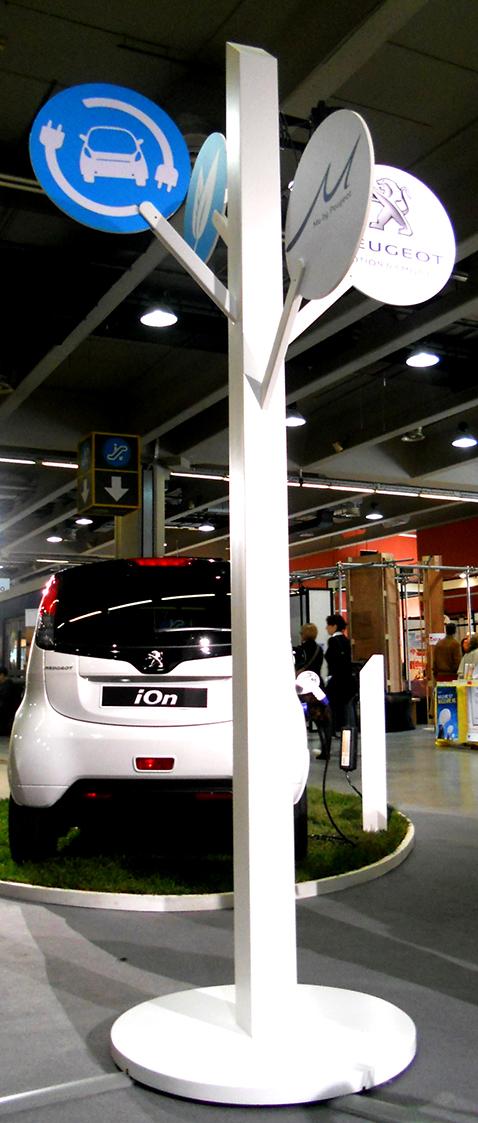 007 | Peugeot Ion Stand * Architettura = OfficineMultiplo