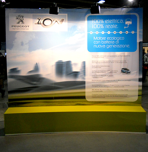 009 | Peugeot stand Ion * Architecture = OfficineMultiplo