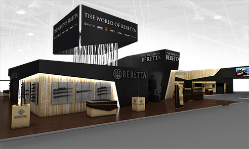 002 | Beretta exhibition Nuremberg * Architecture = OfficineMultiplo