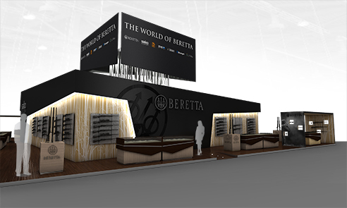005 | Beretta exhibition Nuremberg * Architecture = OfficineMultiplo