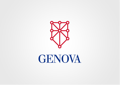 001 | Logo per Genova * Architettura = OfficineMultiplo