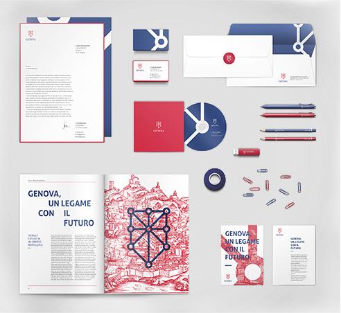007 | brand identity logo Genova * Comunicazione = OfficineMultiplo