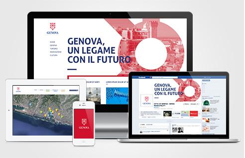 008 | website identity logo Genova * Comunicazione = OfficineMultiplo
