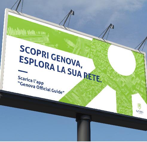 010 | affissioni esterne brand identity logo Genova * Comunicazione = OfficineMultiplo