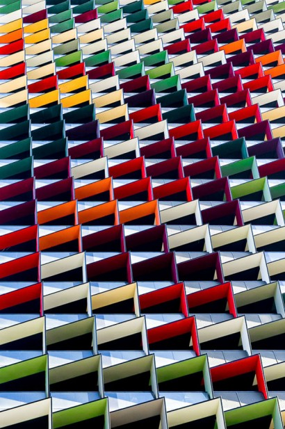 Origami-Colorful-Architecture-Pattern-Photography
