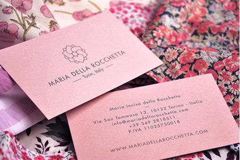 004   Maria della rocchetta biglietto da visita * Comunicazione = OfficineMultiplo