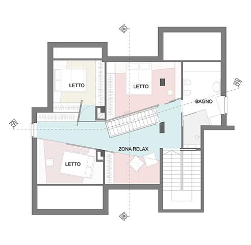 010 | Ristrutturazione mansarda * Architettura = OfficineMultiplo