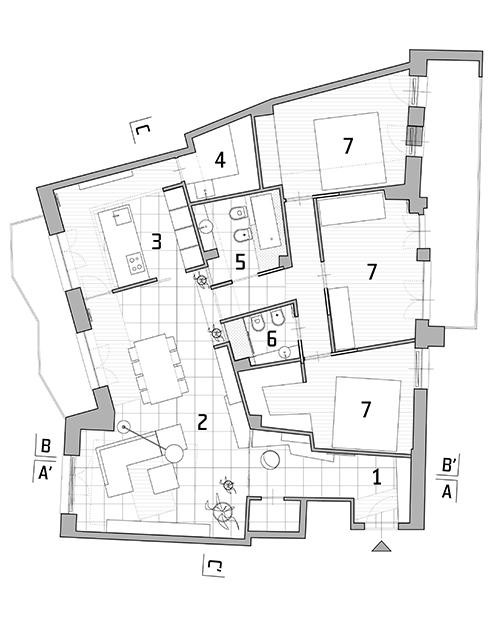 021 | Casa DG apartment renovation * Architecture = OfficineMultiplo
