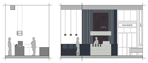 015 | Lavazza Coffee Corner * Architecture= OfficineMultiplo