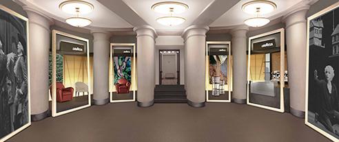 001 | Lavazza Teatro Carignano | Architettura * Design * Comunicazione = Officinemultiplo