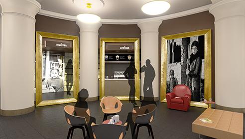 003 | Lavazza Teatro Carignano | Architettura * Design * Comunicazione = Officinemultiplo