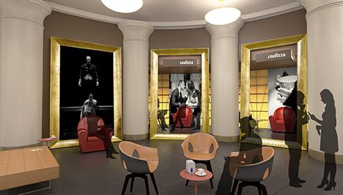 004 | Lavazza Teatro Carignano | Architettura * Design * Comunicazione = Officinemultiplo